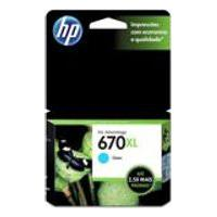 Cartucho Hp 670Xl 7,5Ml Ciano Original Cz118Ab