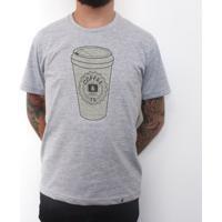 Coffee & Tv - Camiseta Clássica Masculina