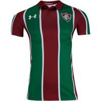 Camisa Do Fluminense I 2019 Under Armour - Masculina - Vinho/Branco