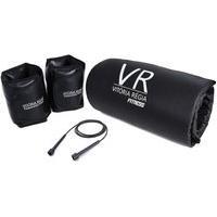 Kit 3 Kg - Colchonete Academia / Yoga / Fitness + Par De Caneleira / Tornozeleira + Corda De Pular De Brinde
