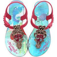 32a70f3a60 Netshoes  Sandália Infantil Grendene Disney Princesas Essencial Feminina -  Feminino
