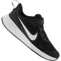 Tênis Nike Revolution 5 Psv Feminino - Infantil - Preto/Branco