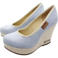 Scarpin Barth Shoes Land - Feminino-Azul Claro