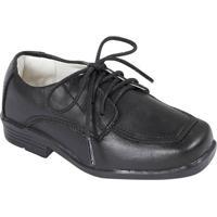 Sapato Tradicional Em Couro- Pretoprints Kids
