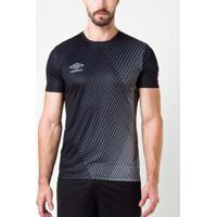 Camisa Umbro Twr Graphic Velocita Preta