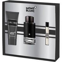 Kit Montblanc Explorer Perfume Edt + Creme Pós Barba + Miniatura Masculino - Masculino-Incolor