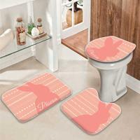 Jogo Tapetes Para Banheiro Feliz Páscoa