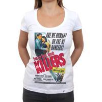 Are We Human? - Camiseta Clássica Feminina