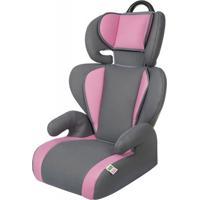 Cadeira Para Auto 15 A 36 Kg Safety & Comfort Segmentada Cinza E Rosa Tutti Baby
