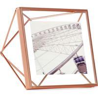Porta-Retrato Prisma 10X10 Cm Cobre