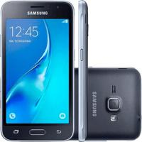 Smartphone Samsung Galaxy J1 Mini J105M Preto - Dual-Chip - 8Gb - Android 5.1 Lollipop
