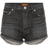 Heron Preston Short Jeans - Preto
