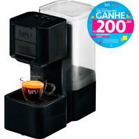 Máquina De Café Espresso E Multibebidas Automática Pop Preta Três Corações - 1,3L De Capacidade, Pressões Entre 15 E 2 Bar, Capsula Para Retrolavagem