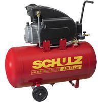 Compressor De Ar Schulz 915.0406-0 Csi 8.5/50 2Cv Preto/Vermelho 220V