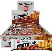 Barra Proto Bar - 8 Unidades De 70G Peanut Butter Com Amendoim - Nutrata - Unissex
