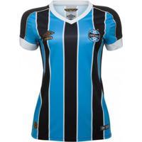 Camisa Feminina Umbro Grêmio Oficial 1 2019