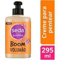 Creme De Pentear Seda Boom Volumão 295Ml