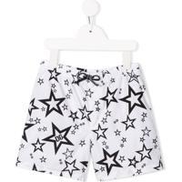 Dolce & Gabbana Kids Star Print Swim Shorts - Branco