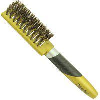 Escova De Cabelo Vanguarda Escova Fidalga Para Mega Hair Cerdas Mistas Dourada