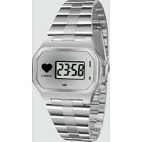 Relógio Feminino Digital Lince Sdm4480L Bssx