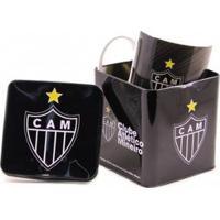Caneca De Porcelana Na Lata 320Ml Atlético Mineiro - Unissex