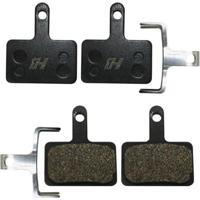 Kit 2 Pastilhas Para Freio A Disco Semi Metálica High One Compativel Shimano M395 M446 - Unissex