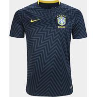 Camisa Brasil Pré-Jogo Dry Nike Masculina - Masculino