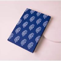 Caderno Jaipur Cor: Azul - Tamanho: Único