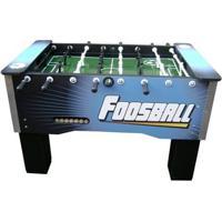 Mesa De Pebolim Foosball Embutido Alumínio Corporativo - Unissex