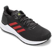 Tênis Adidas Solar Blaze Masculino - Masculino-Chumbo+Vermelho