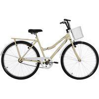 Bicicleta Aro 26 Ultra Bikes Tropical Summer V-Break Bege/Branco