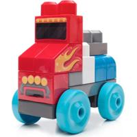 Mega Bloks First Builders Veículos Rápidos Sacola Com 20 Peças Mattel Multicolorido
