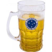 Caneca Cerveja 400Ml Cruzeiro - Unissex-Incolor
