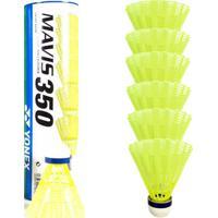 Tubo C/ 6 Petecas Mavis 350 P/ Badminton - Yonex