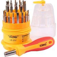 Kit De Ferramentas Chaves Manutenção Celular Tablet 31X1 Lelong Le-938