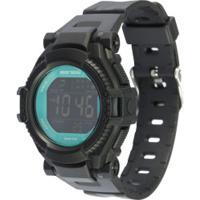 Relógio Digital Mormaii Nxt Kids Mo8600Aa - Infantil - Preto/Aqua