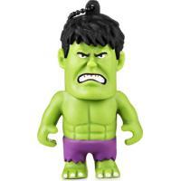Pen Drive Marvel Vingadores Hulk 8Gb Usb Leitura 10Mb/S E Gravação 3Mb/S Multilaser - Pd082 - Padrão