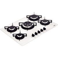 Cooktop Em Vidro Temperado Com 5 Queimadores Bivolt Perfecta Branco - Tramontina
