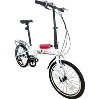 Bicicleta Dobrável Pelegrin Tempo 3.0 Aro 20 - Unissex