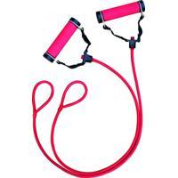 Elástico Extensor Loop E Peso Removível Rosa Winmax