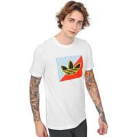 Camiseta Adidas Originals Diagonal Branca
