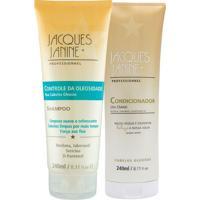 Kit De Shampoo Controle Da Oleosidade & Condicionador- 2Jacques Janine