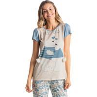 Pijama Polar Mg Curta