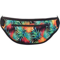 Pochete Banana Rosa Feminina New Fit Neoprene Tropical Abacaxi Colorido