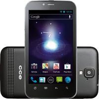 "Smartphone Cce Motion Plus Sm70 - Dual Chip - 3G - Wi-Fi - Tela De 4.3"" - Cortex A9 - 5Mp - Android 4.0 - Preto"