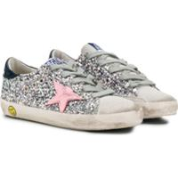 Golden Goose Kids Superstar Sneakers - Cinza