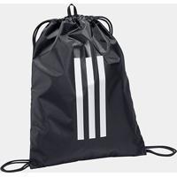 Bolsa Adidas 3S Gymsack - Unissex-Preto+Branco