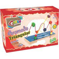 Brinquedo Aramado Triangular Carlu 9 Peças E 2 Circuitos