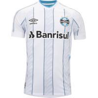 Camisa Do Grêmio Ii 2020 Umbro - Masculina - Branco/Azul