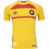 Camisa Do Atlético-Pr Nations El Huracan Umbro - Masculina - Amarelo/Vermelho